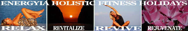 Energyia holistic fitness ho;lidays in the Greek Islands