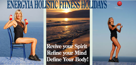 Energyia Holisitc fitness activity holidays in the Greek islands