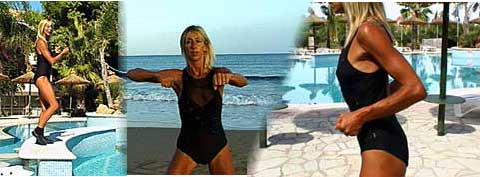 Zante Energyia Kinetics™ Workouts for Body & Soul, presented by Michele Wilburn, are being prepared for release on DVD! Energyia Kinetics Holistic Fitness Holiday retreats in the Greek Islands this summer give you a chance to take time out to release and relax tensions, focus on fitness of body and soul! Join me in Zakynthos - come on your own or with family and friends!