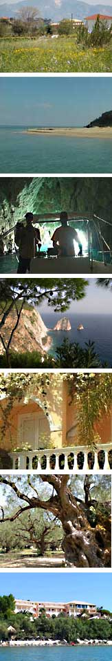 Holistic fitness holidays in Porto Koukla are held in a back to nature region of the island of Zakynthos with earth, sea and sky on your doorstep.